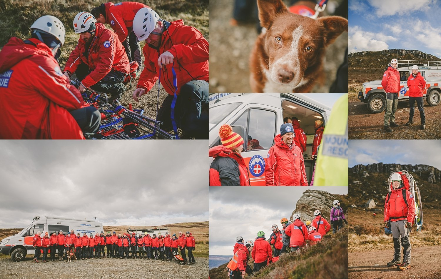 mountain rescue support for nonprofit