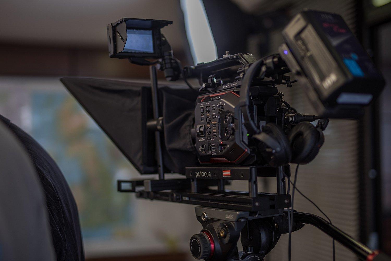 EVA camera set up