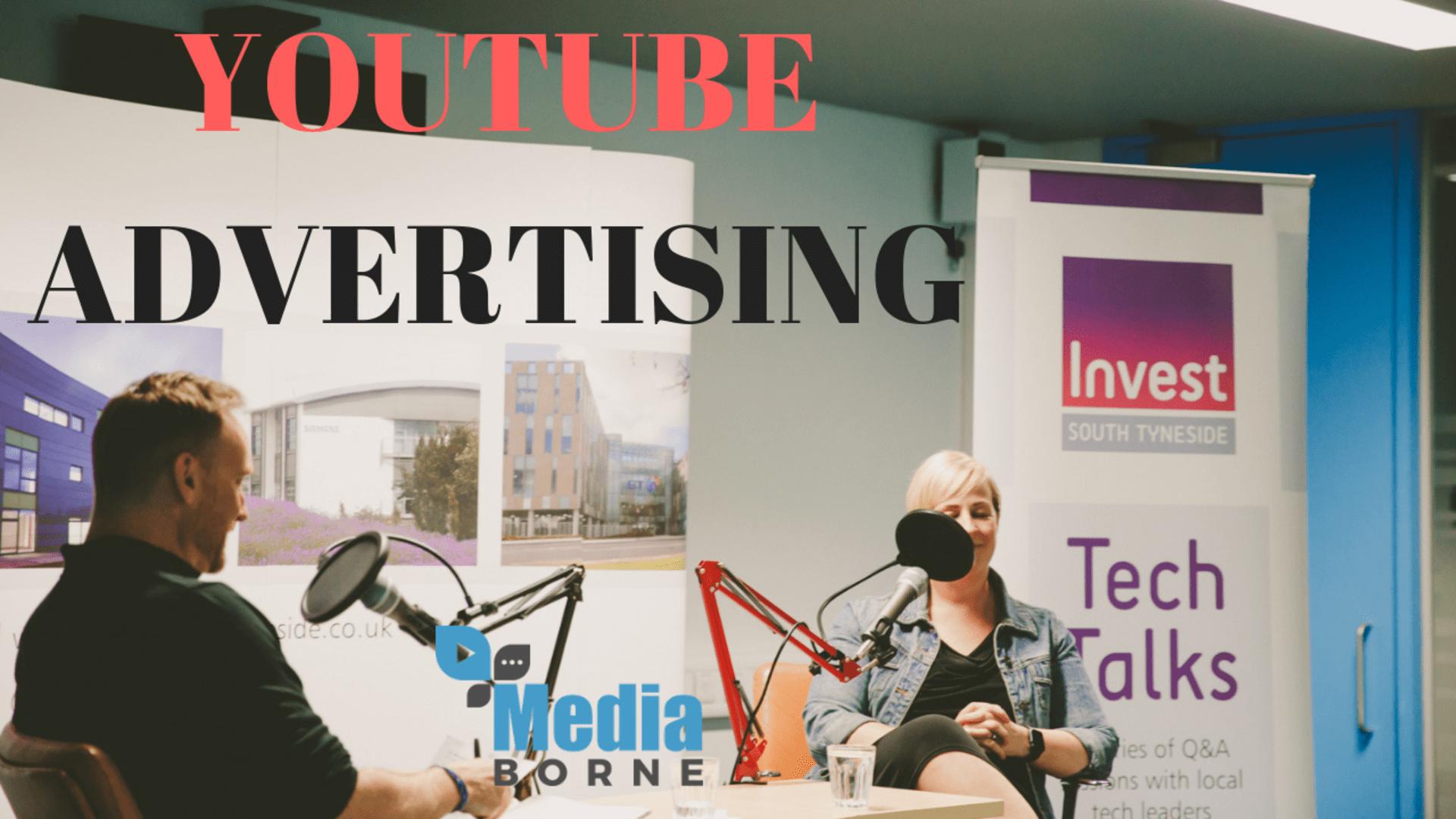 Youtube advertising large
